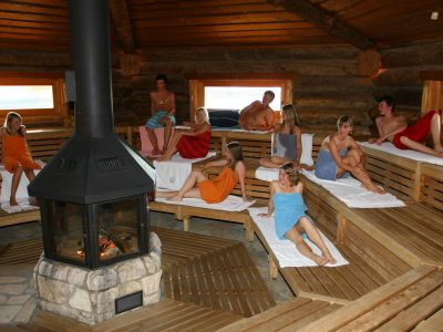 Therme mit Sauna in Obernsees